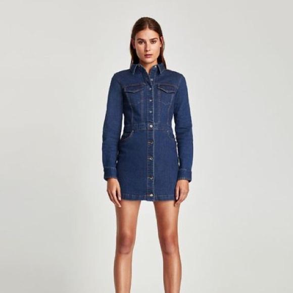 Zara Dresses & Skirts - NWT ZARA Jean Dress